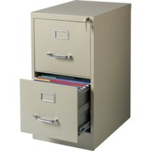 Lorell Commercial-grade Vertical File - 2-Drawer