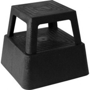 Genuine Joe  Plastic Step Stool
