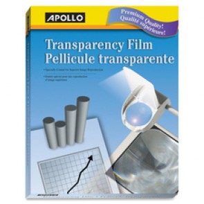 Apollo Laser Print Transparency Film