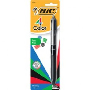 BIC 4-Color Grip Ballpoint Pen