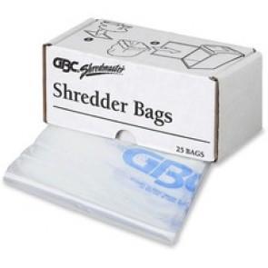 Swingline Shredder, 25 Bags, Up To 30 Gal Bin, Clear