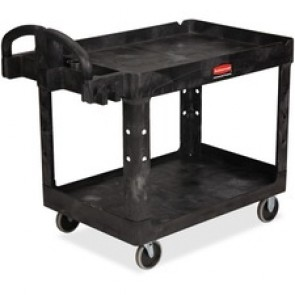 Rubbermaid Heavy-duty Two-tiered Utility Cart