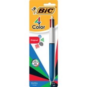 BIC 4-Color Retractable Ball Pen