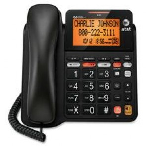 AT&T Corded Big Button Phone With Digital Answering System