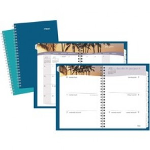 Mead Tropical Escape Weekly/Monthly Planner
