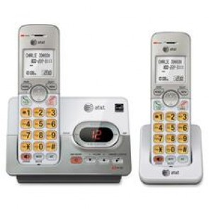 AT&T  2 Handset Cordless Answering System with Caller Id/Call Waiting