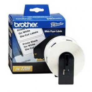 Brother  Labels - (White)  (1-1/7 x 2-3/7)  Die-Cut Address Labels