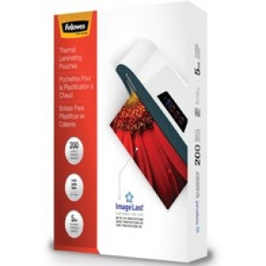 Fellowes ImageLast Jam-Free Thermal Laminating Pouches