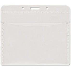 Advantus PVC-Free Horizontal Badge Holder