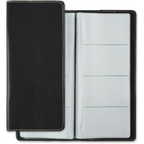 "Winnable Business Card Holder, 4-1/5"" x 9-3/4"", 96 Cards, Black"