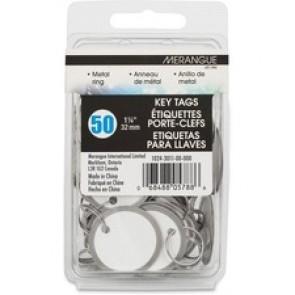 Merangue Metal Rim Key Tags