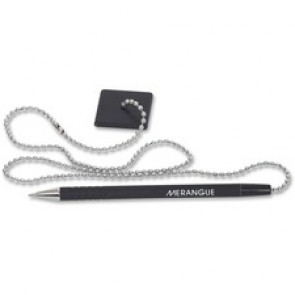 "Merangue 24"" Stay-Put Security Pen with Chain"