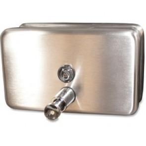 Genuine Joe Stainless 40oz Soap Dispenser