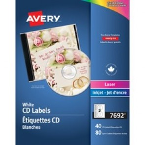 Avery&reg  Laser/InkJet Cd Labels