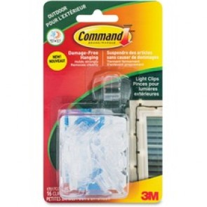 Command  Outdoor Light Clips