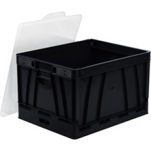 Storex  Hanging File Collapsible Storage Crate