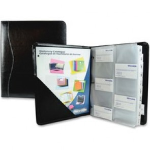 Winnable  Large Leather Business Card Binder