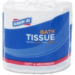 Genuine Joe  500-sheet 2-ply Standard Bath Tissue