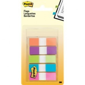 "Post-it® 1/2"" Assorted Flags"