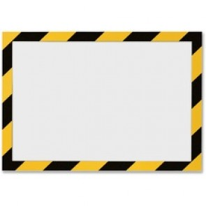 DURABLE Twin-color Border Self Adhesive Security Frame