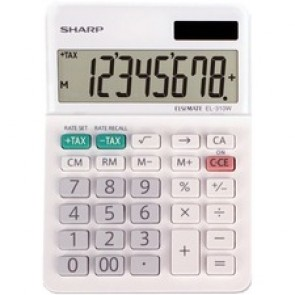 Sharp Calculators EL-310WB 8-Digit Professional Mini-Desktop Calculator