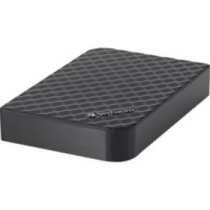 Verbatim 4TB Store 'n' Save Desktop Hard Drive, USB 3.0 - Diamond Black