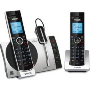 VTech  2 Handset Connect to Cell Answering System with Cordless Headset