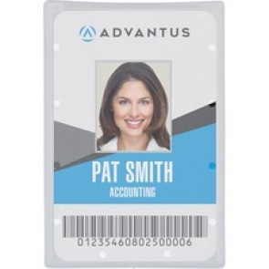 Advantus Clear ID Card Holders