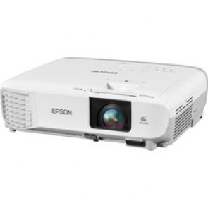 Epson PowerLite X39 LCD Projector - Front - 1280 x 800 - WXGA - 2700 lm - HDMI - White, Gray Color - 2 Year Warranty