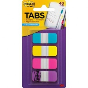Post-it® Easy Dispenser Assorted Tabs
