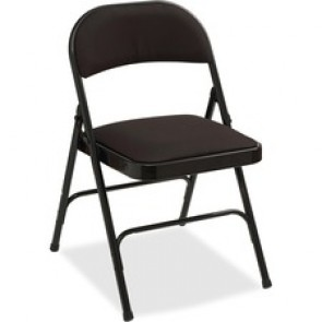 Lorell Padded Seat Folding Chairs