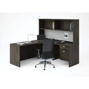 Heartwood Innovations Grey Dusk Laminate Desking