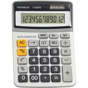 Merangue  12-digit desktop Calculator
