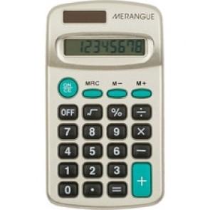 Merangue 8-Digit Handheld Calculator