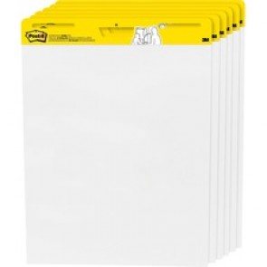 Post-it® Self-stick Plain Easel Pads