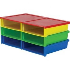 Storex 6-compartment Litreature Sorter