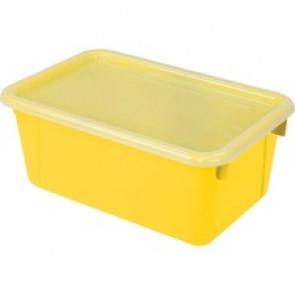 Storex  Clear Lid Small Cubby Bin