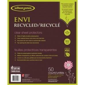 Wilson Jones ENVI Recycled Sheet Protectors 50/pack
