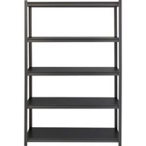 Lorell 3,200 lb Capacity Riveted Steel Shelving