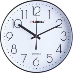 "Lorell 12"" Quiet Wall Clock"