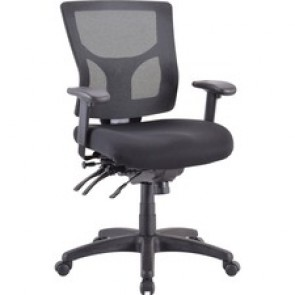 Lorell Conjure Executive Mid-back Mesh Back Chair
