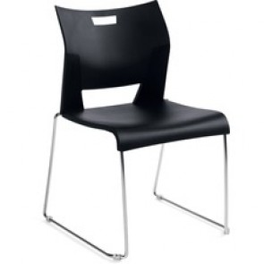 "Chair, Armless, 20-3/4""Wx22-3/4""Dx33-1/4""H, Black"