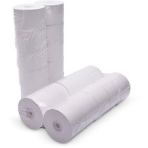 """ICONEX Cash Register Roll - 1 47/64"""" x 150 ft - 10 / Pack - White"""