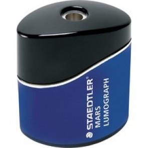 Pencil Sharpener, Single-Hole, Oval, Blue
