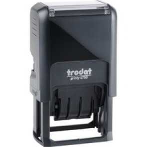 Self-Inking Stamp, Paid, 4mm, Multi