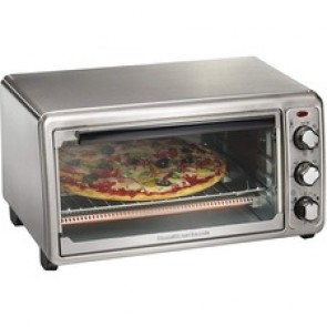 Hamilton Beach Stainless Steel 6 Slice Toaster Oven