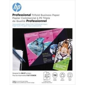 HP 48 lb. Glossy Tri-fold Paper