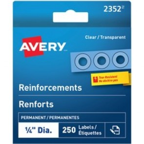 Avery Clear Reinforcement Labels