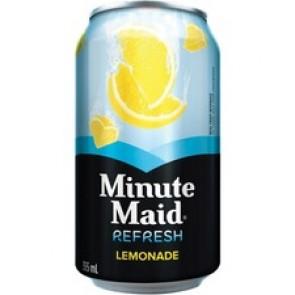 Minute Maid Can Lemonade Beverage Drink - Ready-to-Drink - Lemonade Flavor - 355 mL - 12 / Carton / Can