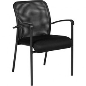 Offices To Go Dash Mesh Guest Chair Black